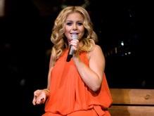 Тина Кароль дала концерт на седьмом месяце беременности