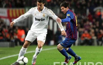 Барселона - Реал: Скільки забивали Мессі і Роналду в Ель-Класико