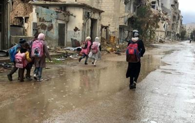 США засудили авіаудари по школі і лікарні у передмісті Дамаска