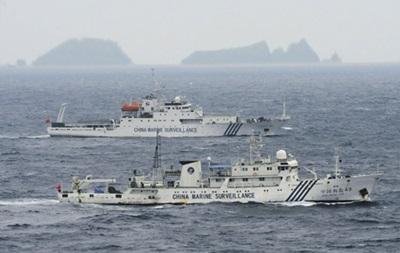 Корабли Японии приблизились к спорным с Китаем островам