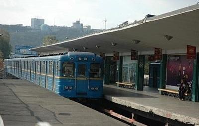 У Києві потяг метро збив п яного пасажира
