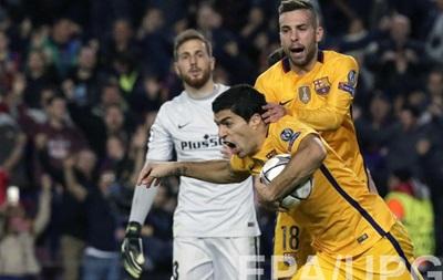 Суарес приносит Барселоне победу над Атлетико