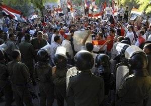 Европарламент призвал президента Сирии уйти в отставку