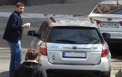 Парасюка помітили на новому авто за мільйон