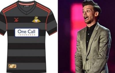 Участник группы One Direction создал дизайн формы клуба третьего дивизиона