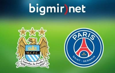 Манчестер Сіті - ПСЖ 1:0 Онлайн трансляція матчу Ліги чемпіонів