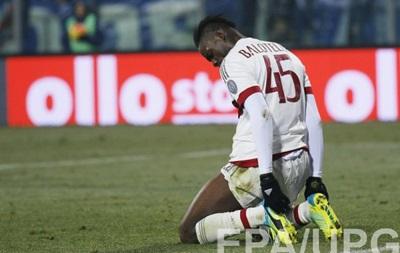 Галліані: Сказав Балотеллі, що він не заслуговує залишитися в Мілані