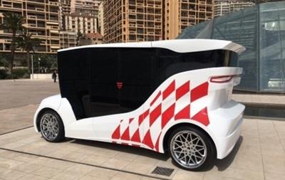 У Монако показали перший український електромобіль