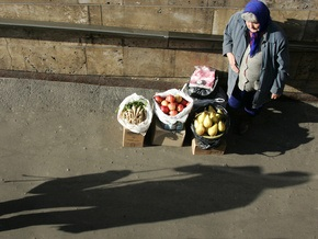 В Украине снижается реальный уровень жизни