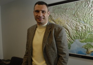 Кличко не исключает повторения Майдана: Принцип  моя хата с краю  не работает