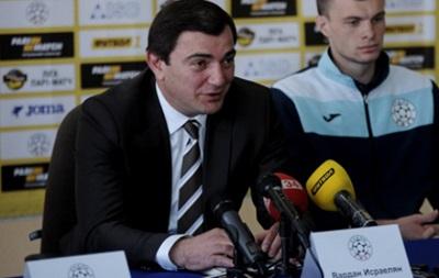 Президент Сталі: Ми можемо пробитися в єврокубки