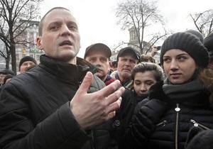 В Москве у телецентра Останкино проходит акция против канала НТВ