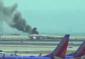 В Сан-Франциско при посадке разбился  Boeing-777