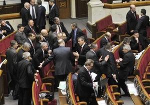 Опрос: У Партии регионов падает рейтинг, а Блок Литвина может не попасть в Раду