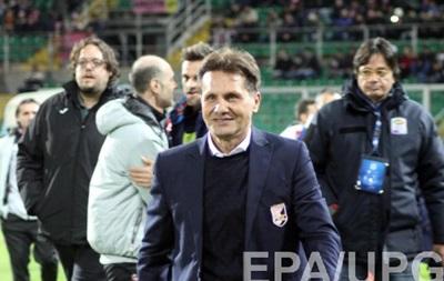 Палермо відправляє у відставку восьмого тренера за сезон