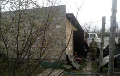 На Донбасі в гаражі підірвався чоловік