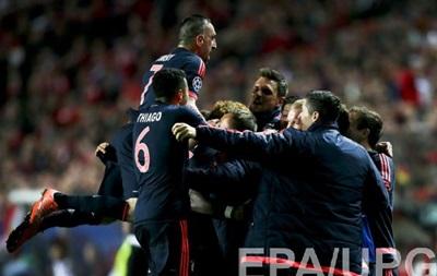 Бавария сыграла вничью с Бенфикой и вышла в полуфинал Лиги чемпионов