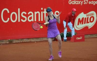 Свитолина проиграла россиянке двухдневный матч в Колумбии
