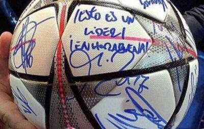 Кріштіану Роналду забрав собі м яч після матчу з Вольфсбургом