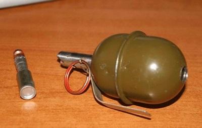 В Киеве пьяный взорвал гранату возле метро Лесная