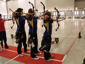 Первые медали украинских лучников в сезоне