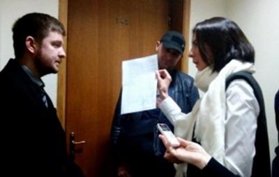 У главы Киевского облсовета пытаются провести обыск