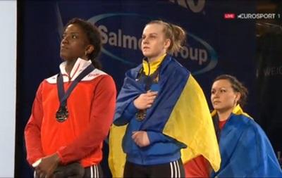 Украинка Деха стала чемпионкой Европы по тяжелой атлетике