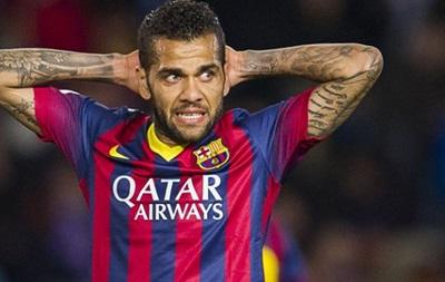 Барселона покарає Дані Алвеса за відео в жіночій перуці