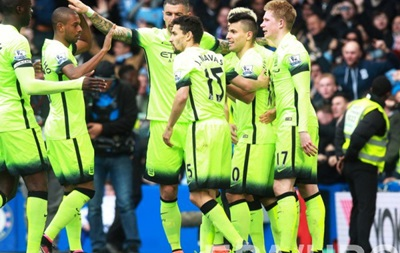 Хет-трик Агуэро помог Манчестер Сити разгромить Челси