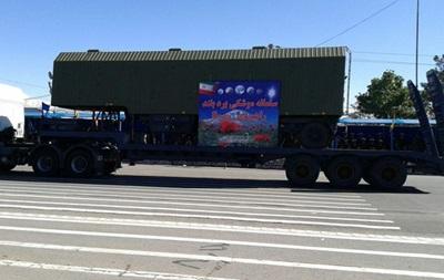 Іран вперше показав на параді російські С-300