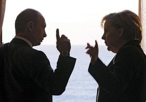 Путин увидел позитив в скепсисе канцлера ФРГ относительно его статьи: Во-первых, Меркель ее прочитала