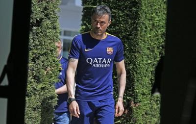 Енрике хоче, щоб Барселона грала так само, як і в програному Валенсії матчі