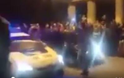 В Одессе авто патрульных заметили в уличных гонках