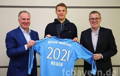 Нойєр підписав новий контракт з Баварією