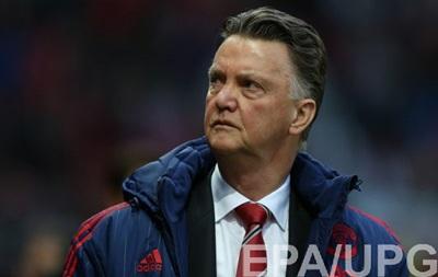 Ван Гал: Манчестер Юнайтед должен выиграть все четыре оставшихся матча