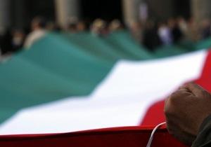 Судимые итальянцы не смогут баллотироваться на выборах