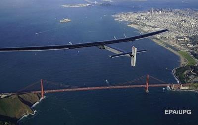Самолет на солнечных батареях перелетел Тихий океан