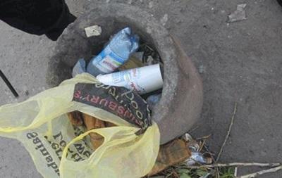 В Николаеве возле остановки нашли шумовые гранаты