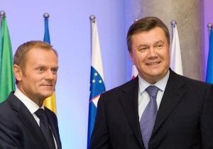 Янукович настаивает, чтобы в Соглашении об ассоциации закрепили перспективу членства Украины в ЕС