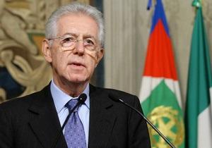 Премьер Италии решил дополнительно исполнять обязанности министра экономики
