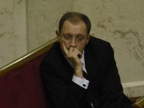 В НУ-НС намерены вернуть Яценюка в кресло спикера