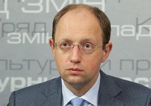 Яценюк заявил, что новым законом о выборах недовольны  великие политики  с рейтингом 0,1%