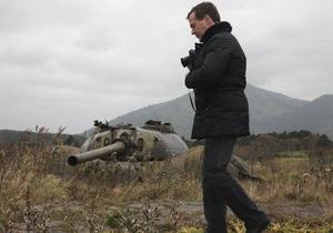 Фотогалерея: Остров преткновения. Президент России впервые посетил Курилы