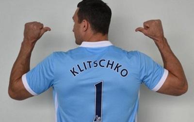 Кличко надел футболку полуфиналиста Лиги Чемпионов
