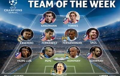 Шесть игроков Атлетико вошли в символическую сборную Лиги чемпионов