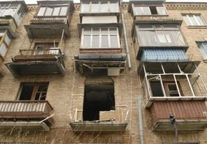 Киевляне, пострадавшие из-за взрыва газа в жилом доме, получат от мэрии по три тысячи гривен компенсации