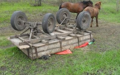 У Сумській області перекинувся віз: двоє загиблих