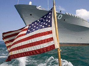 Американский корабль внезапно покинул Севастополь
