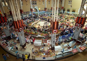 Новости Киева - Бессарабский рынок - Власти Киева решили отреставрировать помещения Бессарабского рынка