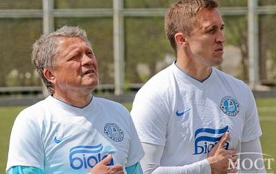 Маркевич зіграв у футбол з прикордонниками
